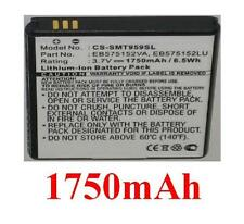 Battery 1750mAh type EB575152LU EB575152VA For SAMSUNG GT-I9003