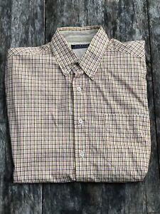 Austin Clothing Co. - Men's Short Sleeve Button Up Shirt - Western Look - Medium