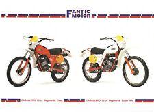 BROCHURE  FANTIC MOTOR  CABALLERO 50 REGOLARITA' CASA E SUPER 6 M