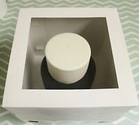 """5 x 10""""Tall Cake Boxes- Tiered stacked cakes Giant Cupcakes with Clear Window"""
