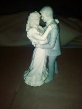 porcelane figurines The First Kiss .from the valencia collection by Roman 1986