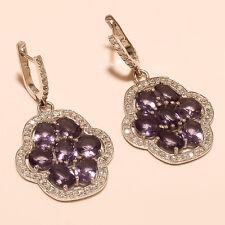Chandelier Earring Fine Jewelry Gifts Panorama Amethyst Gemstone Sterling Silver
