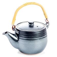 Sumi Grey Ceramic Japanese Teapot