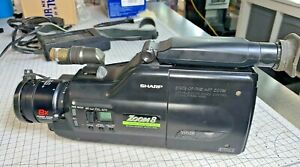 Sharp VL-C690H VHS-C Camcorder with AA-75H charger / power adapter - not tested
