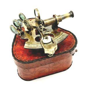 Antique Maritime Nautical Sextant Vintage Marine Astrolabe Ship's Instrument