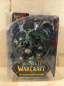 World of Warcraft DC Action Figure - Broll Bearmantle - Night Elf Druid - NIB
