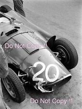 Juan-Manuel Fangio Lancia Ferrari D50 Grand Prix de Mónaco 1956 fotografía 3
