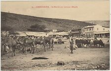 DIRRE DAOUA - LE MARCHE' AUX BESTIAUX A MAGALA - DIRE DAUA - A.O.I. (ETIOPIA)