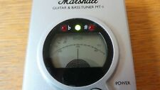Marshall guitar & bass tuner MT-1 good working condition