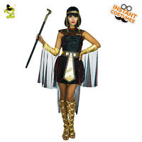 Women Egyptian Pharaoh Costume Empress Christmas Cosplay Cleopatra Queen Costume