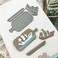 metal cutting dies cut die mold Sailboat Scrapbook paper knife mould stencils
