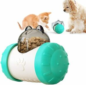 Dog Cat Toy Treat Ball Puzzle Interactive Toy Treat Dispenser Pet Chasing Toy