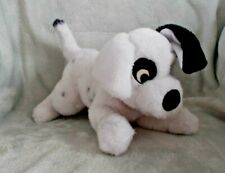 "RARE Disney - 12"" Patch With Collar - 101 Dalmations Dog Soft Plush Toy / Teddy"