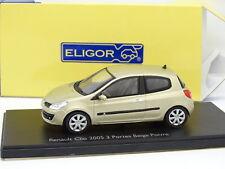 Eligor 1/43 - Renault Clio 2005 3 porte Beige Pepe