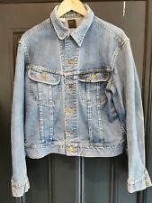 Vintage  Lee Rider Denim Jacket Size 40