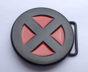 Xmen Belt Buckle Marvel's - Optional PU Snap & Screw On Belt or Buckle only
