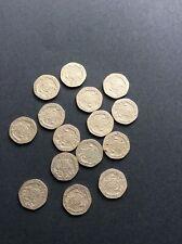 RARE Collectable lot 15 x 20P Twenty PENCE COIN 1982 1983 1987 1993 1996 coins