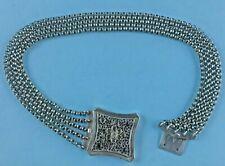 Kropfkette Halskette 800-er Silber Schmuck Tracht Miesbach München Bayern ~1880