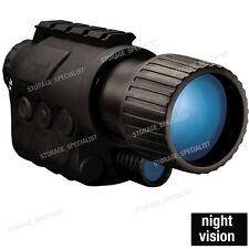 Night Vision Goggles Monocular Security Surveillance Camera IR Gen Hunting scope