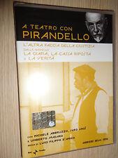 DVD A TEATRO CON LUIGI PIRANDELLO L'ALTRA FACCIA DELLA GIUSTIZIA ABBRUZZO URZI'