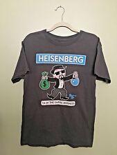 Breaking Bad - Heisenberg Monopoly Apparel T-Shirt Men's Med - Charcoal
