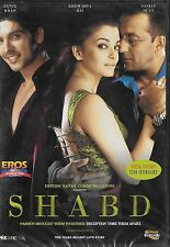 SHABD - SANJAY DUTT - ZAYED KHAN - NEW BOLLYWOOD DVD - FREE UK POST