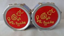 "The Beatles 2000 Vandor ""LOVE DRUM"" Salt and Pepper Shaker #H349"