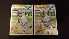 Gene Clines Rangers 1977 Topps #237 Mets Signed Authentic Autograph FB15