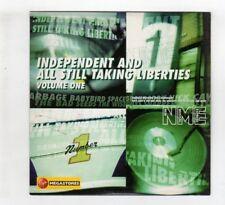 (IH316) Independent & All Still Taking Liberties Vol 1, 17 tracks - NME CD