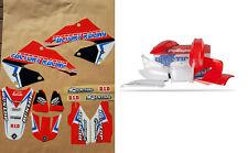 New CR 125 250 00 01 2000 2001 FLU PTS4 Graphics Sticker Plastic Kit Plastics