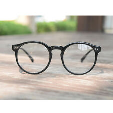 1920s vintage Round oliver retro classic eyeglasses 41R82 Black frames eyewear