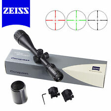 Rifle Scope 4-16X50 AO Carl ZEISS Hunting Illuminated R&G HD Sighting FREE Mount