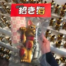 SIGNED Secret Base Horihiro Mitomo Lucky Cat Figure Gold GID Dissected Sofubi