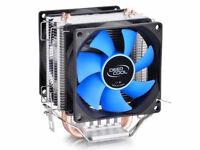 Dual-Fan CPU Quiet Cooler Heatsink for INTEL LGA1156/LGA1155/LGA1150/LGA775 AMD