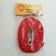 Cvs Pet Central Nylon Dog Leash-15' Long Color Red
