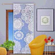 Jacquard Net Lace Window Panel Blind Curtain Fly Screen Patio Door