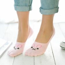 Hot Women Shallow Loafer Boat Thin Invisible No Show Low Cut Cotton Solid Socks