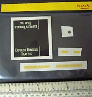Replacement Decals Dinky Southern Railway Mechanical Horse Express Parcels N414