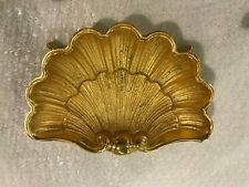 SHERLE WAGNER 22K GOLD PLATED SOAP DISH