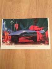 """SIGNED - Syd Mead Hyper an On Christmas Morn Card 2003 + Pic """"Blade Runner"""""""