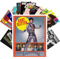 Postcards Pack [24 cards] Gary Glitter Rock Music Vintage Posters CC1274