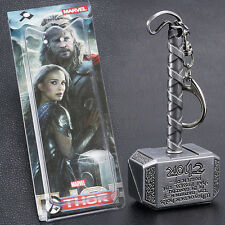 Retro Thor's Hammer Pendant Metal Key Chain Keychain The Avengers Movie Series