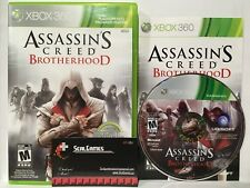 Assassin's Creed: Brotherhood (Microsoft Xbox 360, 2010) Complete Cib Very Good