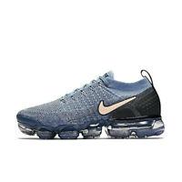 Nike Wmns Air Vapormax Flyknit 2 Shoe 942843-401 Work Blue/Crimson Tint Sneakers