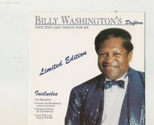 Save The Last Dance For Me By Billy Washington's Drifters CD