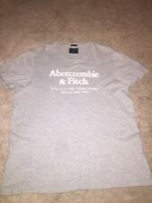 Abercrombie & Fitch Mens Gray Short Sleeve T-shirt
