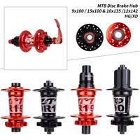 ZTTO MTB Bike Disc Brake Hubs 32 Holes AL6082 4 Sealed Bearing Ratchet F&R cl
