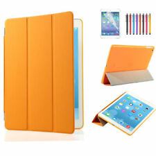 lot Leather Slim Smart Cover Protector Hard Case For iPad 2 3 4 5 Air Mini Pro