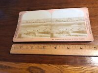 Vintage Stereoview Photo Jerusalem from the Mount of Olives Palestine Griffith &