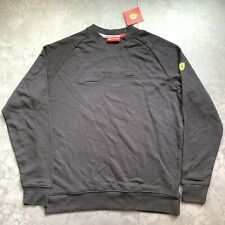 Scuderia Ferrari Men's FW Embossed Sweatshirt Size XL New With Tags F1